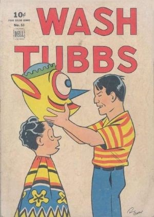 Comic Cover for Wash Tubbs (Four-Color) (#53)