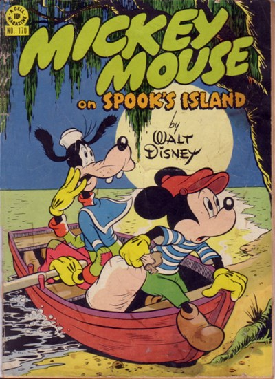 Comic Cover for Mickey Mouse (Four-Color) (#170)