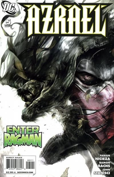 (DC) Cover for Azrael #5