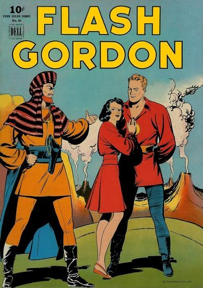 Comic Cover for Flash Gordon (Four-Color) (#84)