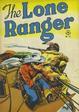 Comic Cover for Lone Ranger, The (Four-Color) (#151)