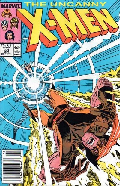 (Marvel) Cover for Uncanny X-Men #221 1st Appearance of Mr. Sinister