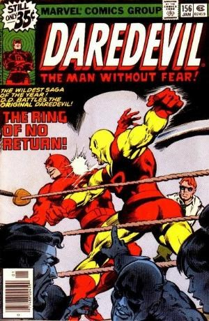 Comic Cover for Daredevil (#156)