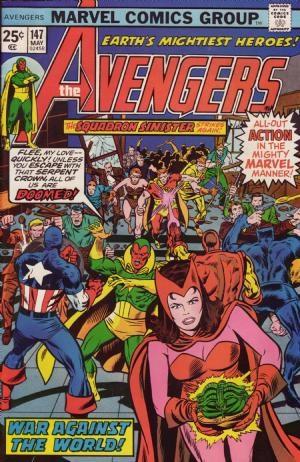 Comic Cover for Avengers (#147)