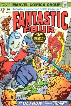 Comic Cover for Fantastic Four (#150)