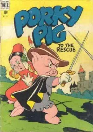 Comic Cover for Porky Pig (Four Color) (#191)