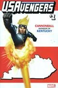 U.S.AVENGERS #1W  Variant Cover Rod Reis Kentucky State Variant Cover