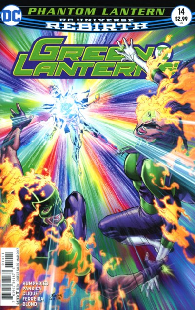 Comic Cover for GREEN LANTERNS (#)