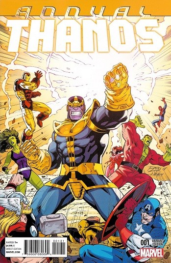Comic Cover for THANOS ANNUAL (#)