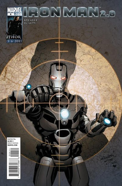 (Marvel) Cover for Iron Man 2.0 #4