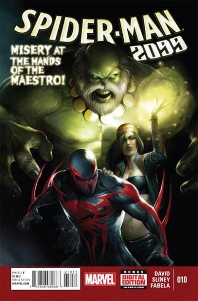 (Marvel) Cover for Spider-Man 2099 #10