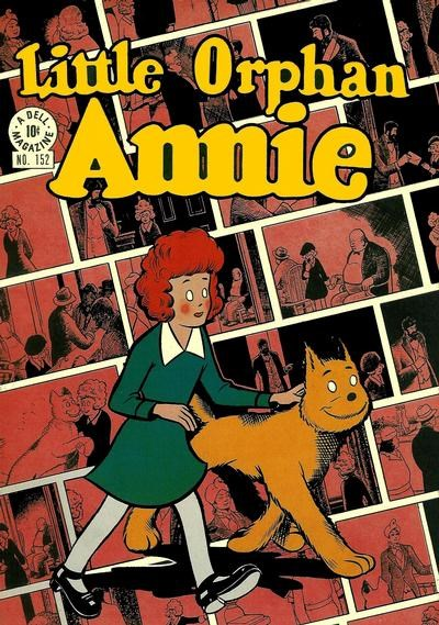 Comic Cover for Little Orphan Annie (Four-Color) (#152)