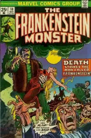 Comic Cover for Frankenstein (#10)