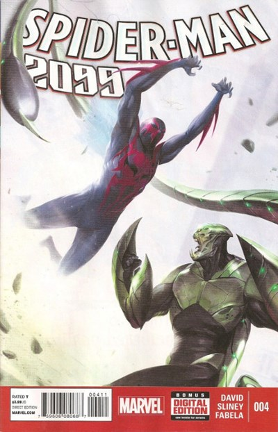 (Marvel) Cover for Spider-Man 2099 #4