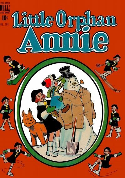Comic Cover for Little Orphan Annie (Four-Color) (#206)
