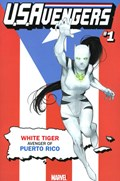 U.S.AVENGERS #1SS  Variant Cover Rod Reis Puerto Rico Variant Cover