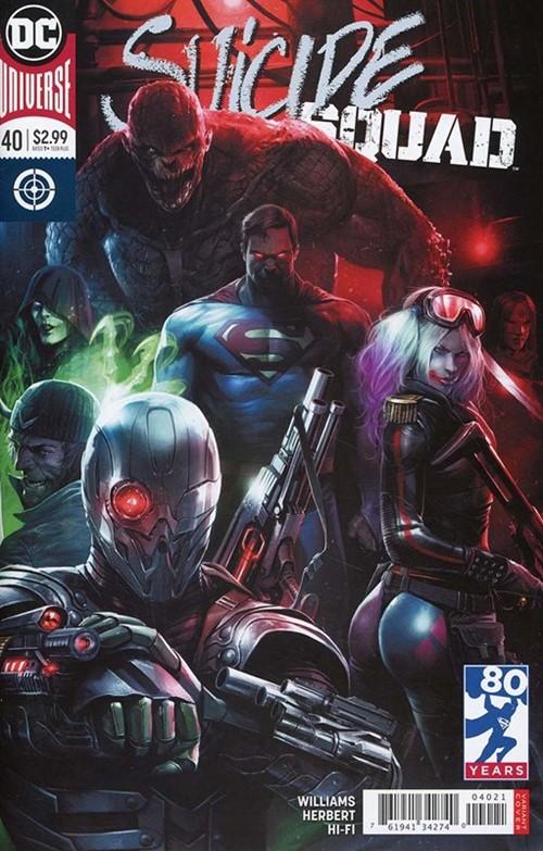 (DC) Cover for Suicide Squad #40 Francesco Mattina Variant Cover
