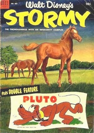 (Dell) Cover for Stormy (Four Color) #537 Four-Color numbering