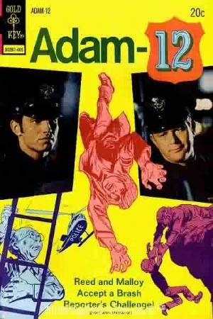 (Gold Key) Cover for Adam-12 #3
