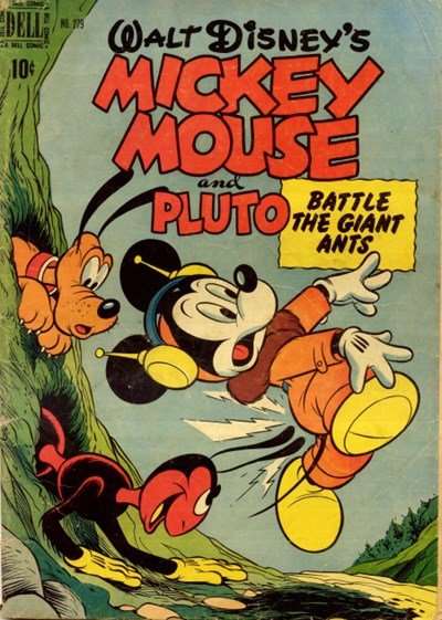 Comic Cover for Mickey Mouse (Four-Color) (#279)