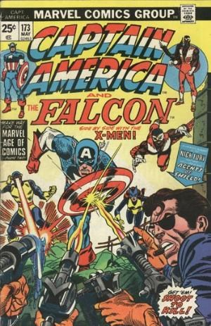 Comic Cover for Captain America (#173)