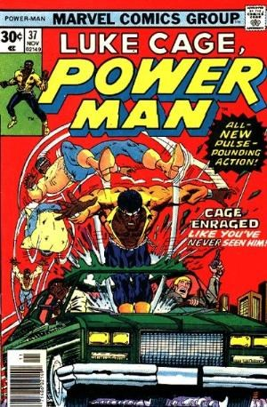 (Marvel) Cover for Power Man #37 1st Appearance of Arch Morton As Chemistro