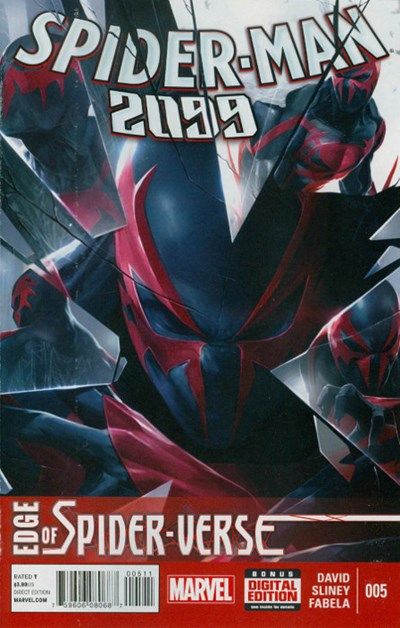 (Marvel) Cover for Spider-Man 2099 #5