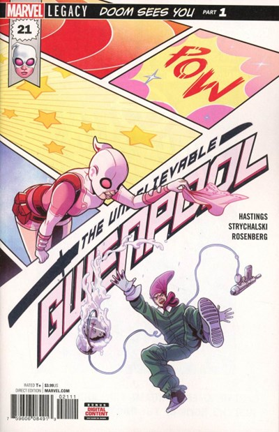 Comic Cover for Unbelievable Gwenpool, The (#21)
