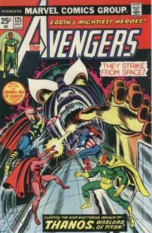 Comic Cover for Avengers (#125)