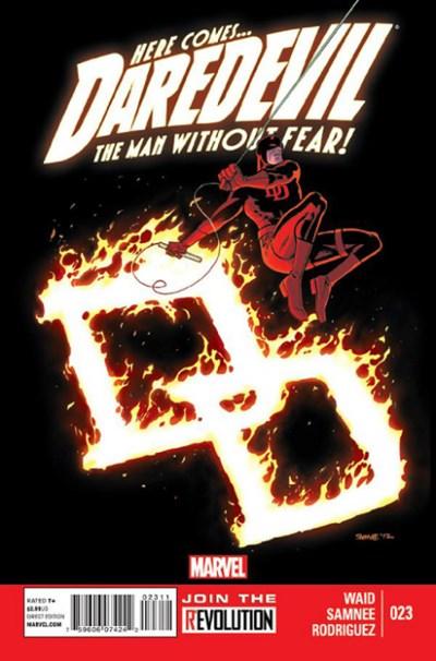 (Marvel) Cover for Daredevil #23