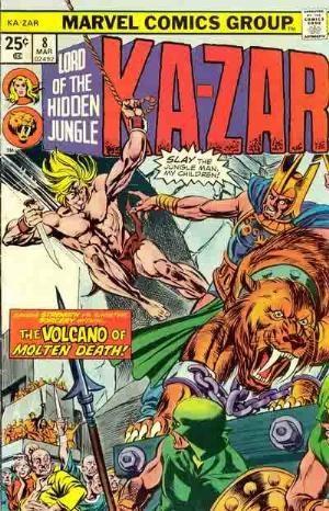 Comic Cover for Ka-Zar (#8)