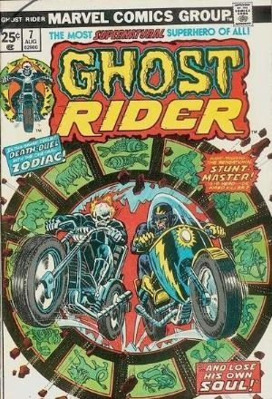 Comic Cover for Ghost Rider (#7)