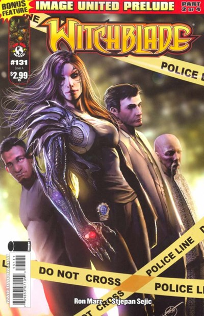 (Image) Cover for Witchblade #131 Cover A by Stjepan Sejic