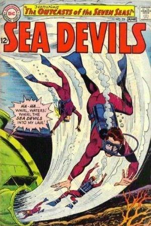 Comic Cover for Sea Devils (#23)