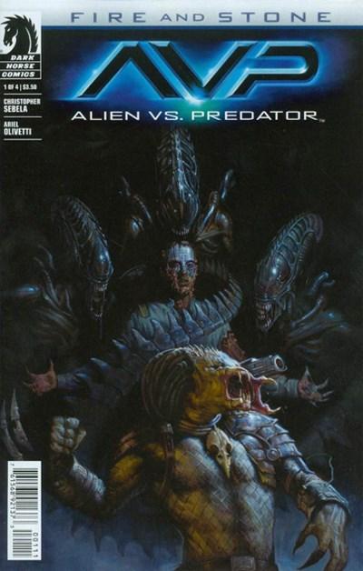 Comic Cover for ALIEN VS. PREDATOR: FIRE AND STONE (#)