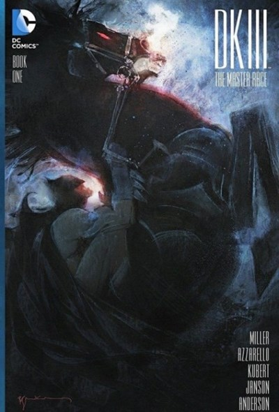 (DC) Cover for Dark Knight Iii: The Master Race #1 Hypno Comics Exclusive Bill Sienkiewicz Variant Cover