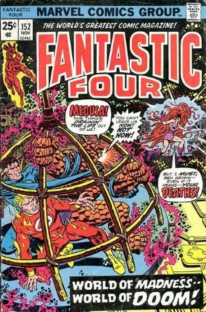 Comic Cover for Fantastic Four (#152)