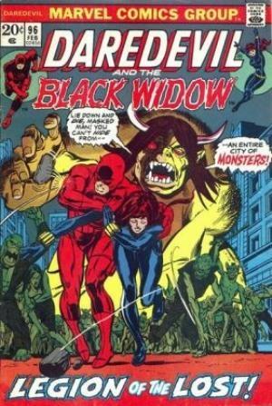 Comic Cover for Daredevil (#96)