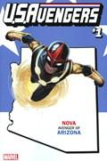 U.S.AVENGERS #1H  Variant Cover Rod Reis Arizona State Variant Cover