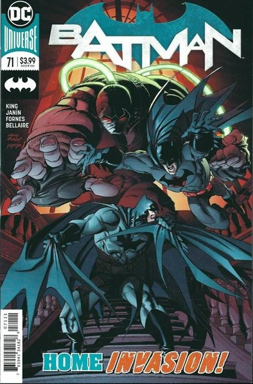 (DC) Cover for Batman #71