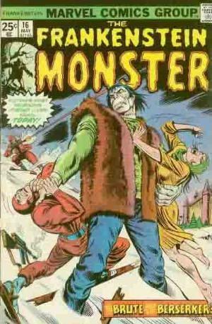 Comic Cover for Frankenstein (#16)