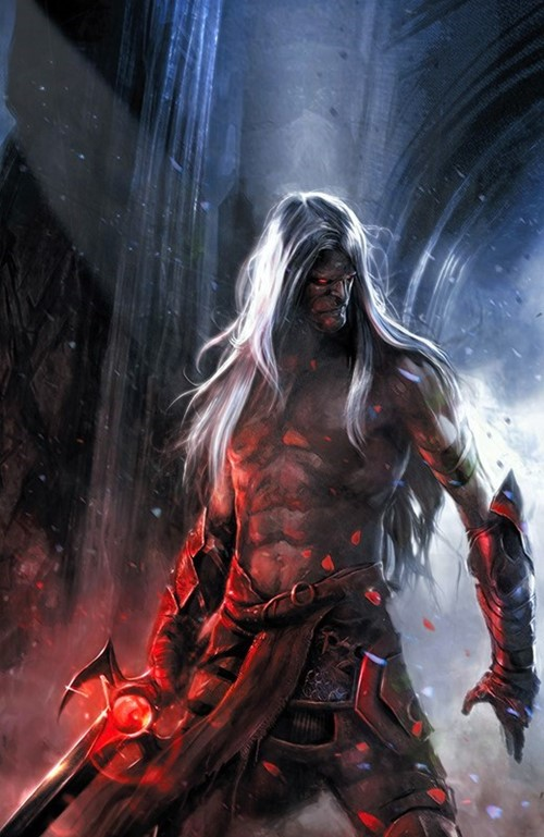 (Boom! Studios) Cover for Elric: The Balance Lost #6 Francesco Mattina Virgin Variant Cover (C). Limited 1 for 10.
