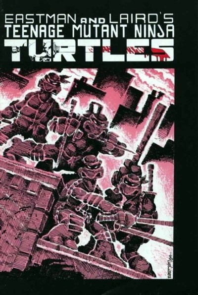 (Mirage Studios) Cover for Teenage Mutant Ninja Turtles #1 2nd Print