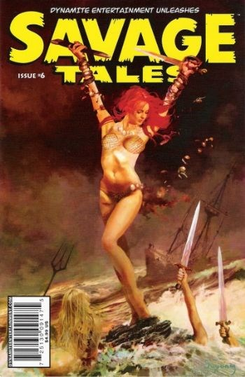 (Dynamite Entertainment) Cover for Savage Tales #6 Arthur Suydam Cover