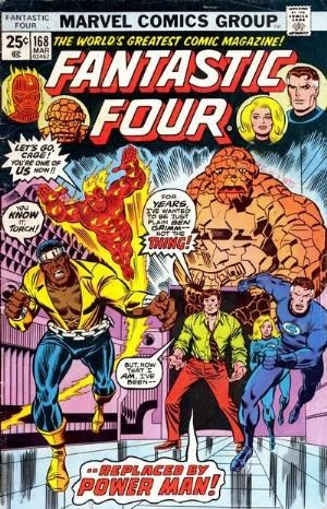 Comic Cover for Fantastic Four (#168)