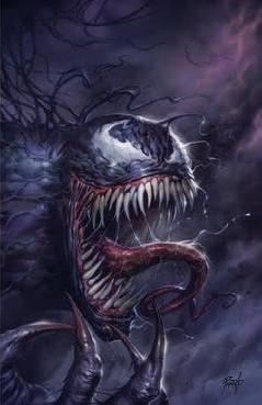 (Marvel) Cover for Venom #1 Sanctum Sanctorum Exclusive Lucio Parrillo Virgin Variant