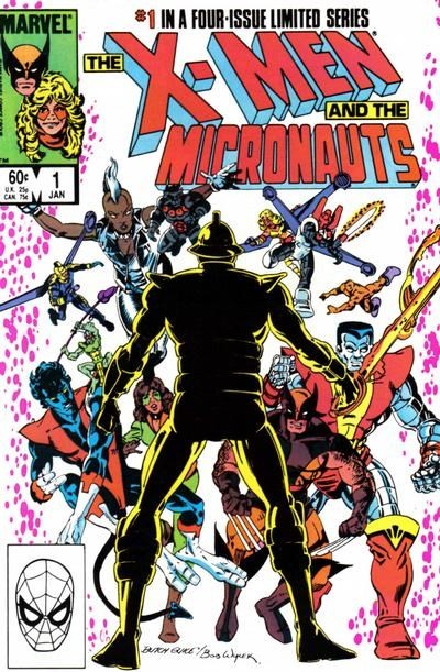 (Marvel) Cover for X-Men And The Micronauts, The #1