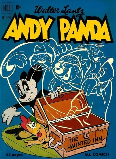 (Dell) Cover for Andy Panda #297