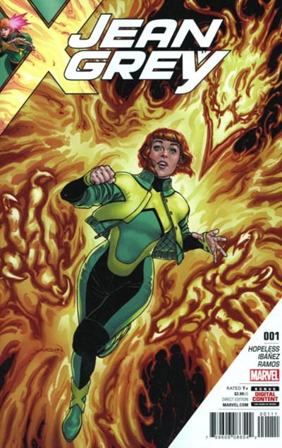 (Marvel) Cover for Jean Grey #1