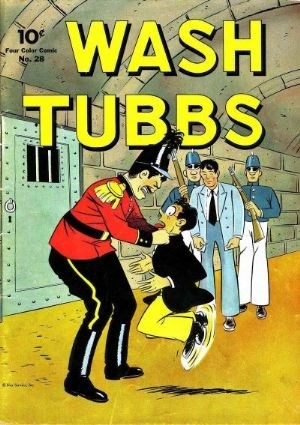 Comic Cover for Wash Tubbs (Four-Color) (#28)